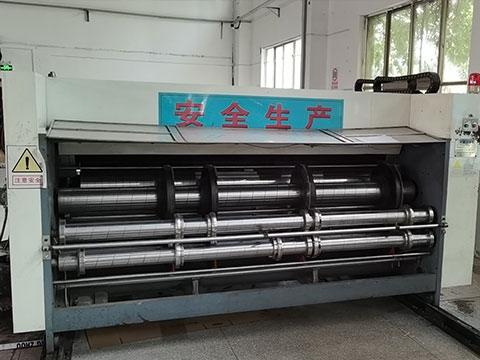 印刷开槽机